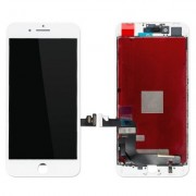 iPhone 8 Plus Skärm med LCD Display - Vit