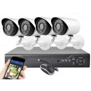 E-CH 7004-4 kamerás megfigyelő rendszer