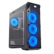 Carcasa Gamemax Starlight-B-Blue, MidTower (Negru)