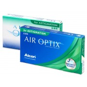 Air Optix for Astigmatism (6 šošoviek)