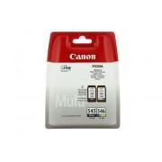 Canon Pack Cartuchos de tinta Original CANON PG-545 y CL-546 color para PIXMA iP2850, MG2455, MG2550, MG2555, MG2950, MG3050, MG3051, MG3052, MG3053, MX495