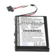 Bateria Mitac Mio Moov 300 / Moov 500 720mAh 2.8Wh Li-Ion 3.7V