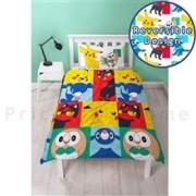 Set De Pat Nintendo Pokemon Newbies Single Rotary Duvet