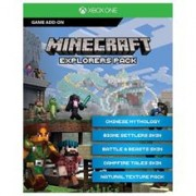 Minecraft Explorer Pack Add On Only Download Code Xbox One