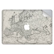 Wereldkaart design sticker voor de MacBook Pro 13.3 inch