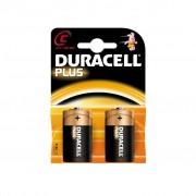 Set 2 baterii alkaline Duracell tip C