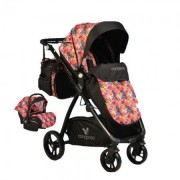 Cangaroo kolica Stefanie set 2in1 sa autosedištem Colorful (CAN3648CS )