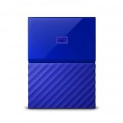 Western Digital MyPassport HDD 4TB USB 3.0 - преносим външен хард диск с USB 3.0 (син)