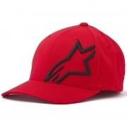 Alpinestars Corp Shift 2 Flexfit Cap Negro Rojo L XL