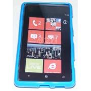Силиконов гръб ТПУ за Nokia Lumia 820 Син