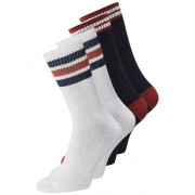 JACK & JONES Striped Socks Man White