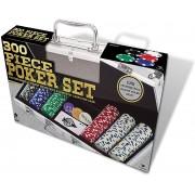 Set Poker Cu 300 Jetoane De 11.5 Grame