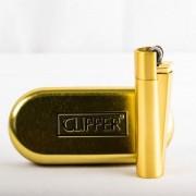 Clipper Briquet Clipper métal or
