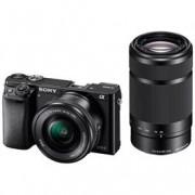 Sony systeemcamera a6000 16-50mm + 55-210mm zwart