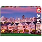 Educa Children's 1500 Painted Ladies San Francisco Puzzle (Piece)