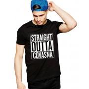 Tricou negru barbati - Straight Outta Covasna