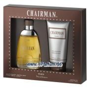 Paris Bleu Chairman - Set für Herren, Eau de Toilette, Duschgel
