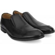 Clarks Broyd Step Black Leather Lace Up For Men(Black)