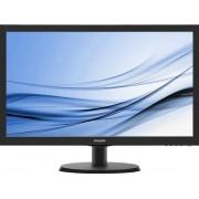 """Philips V-line 223V5LHSB2 - LED-monitor - 22"""" (21.5"""" zichtbaar) - 1920 x 1080 Full HD (1080p) @ 60 Hz - 200 cd/m² - 600:1 - 5 ms"""