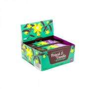 Napolitana cu crema de frisca si vanilie si Green Sugar, 10buc, Green Sugar