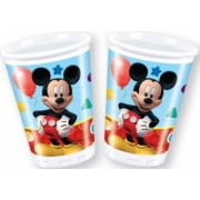 Set de 8 pahare party Mickey Mouse