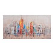 Slika Colorful Town 140x70 cm