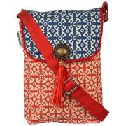 pick pocket Women's Sling Bag Red (slingblured20)