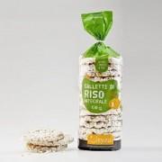 Gallette di riso Integrale - 130g - Senza Glutine