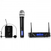 UHF-450 Duo set microfono wireless 2 canali