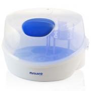 Set Miniland Sterilizator pentru microunde blue