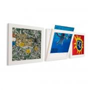 Art Vinyl - Flip Frame 3er-Set, weiß