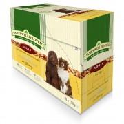 10х150г Adult James Wellbeloved, консервирана храна за кучета - агнешко и ориз в паучове