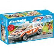 Playmobil City Life, Rescue - Masina de urgenta cu sirena
