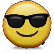 Almofada Emoji Óculos Escuros Emoticon
