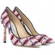Jimmy Choo Esclusiva per Mytheresa - Pumps Romy 100 in tweed
