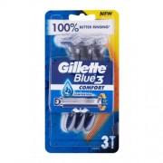 Gillette Blue3 Comfort 3 ks jednorazové žiletky pre mužov