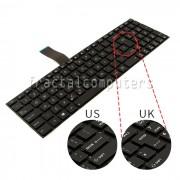 Tastatura Laptop Asus K55A layout UK varianta 2