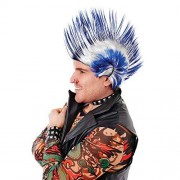 Mohican(wigs) Male One Size