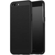 Protectie spate Senno Rock Slim Air Plastic pentru OnePlus 5 (Negru)