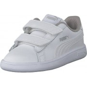 Puma Puma Smash V2 L V Inf Puma White-puma White, Skor, Sneakers & Sportskor, Sneakers, Vit, Barn, 24