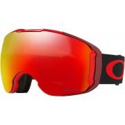 Oakley Airbrake XL goggles rood/zwart 2017 Goggles