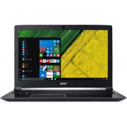 Acer Aspire A717-71G-785Y 2.8GHz i7-7700HQ Zevende generatie Intel® Core™ i7 17.3'' 1920 x 1080Pixels Zwart Notebook