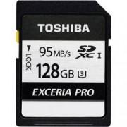 Toshiba Paměťová karta SDXC, 128 GB, Toshiba Exceria Pro N401 THN-N401S1280E4, Class 10, UHS-I, UHS-Class 3