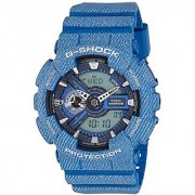 Casio G-Shock Analog-Digital Blue Dial Mens Watch - GA-110DC-2ADR (G637)