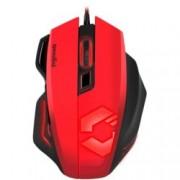 Мишка Speedlink Decus Respec, оптична 5000 dpi, USB, геймърска, 7 бутона, червена