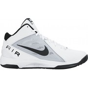 Nike Men's The Air Overplay Ix White, Black and Pure Platinum Basketball Shoes -8 UK/India (42.5 EU)(9 US)