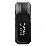 USB Kľúč 16GB ADATA UV240 USB black (vhodné pre potlač)