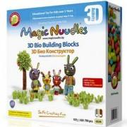Игрален комплект Меджик нудълс - 650-790 броя, 3D Семейство Зайчета, 870022