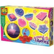 Детски комплект Направи си сам - Ароматни свещи, SES, 080713