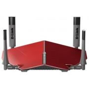 Router Wireless D-Link DIR-885L, Gigabit, Dual Band, 3150 Mbps, 4 Antene externe (Rosu)